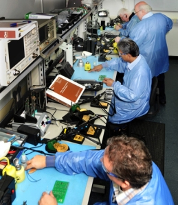 training session at Electronics Yorkshire
