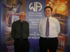 Wakefield Acoustics' Steve Watson and Mathew Shard