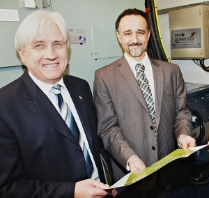 Alex Mardapittas (right), managing director of EMSc (UK)