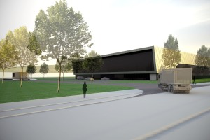 Artist's impression of the facility.