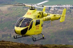 Yorkshire Air Ambulance helicopter