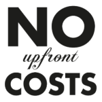 no upfront costs