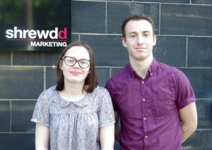 Emily Madigan - Business Admin Apprentice and Jared Priestley - Account Executive
