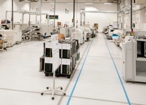 Harvard has implemented a number of processes across its manufacturing facility as part of HLEDs