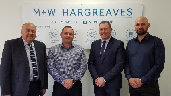 M+W Hargreaves makes four senior appointments to support future growth