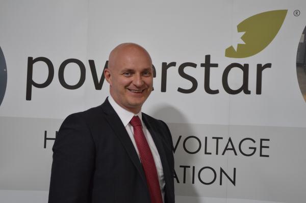) Lee Hudson, Chief Operating Officer at Powerstar