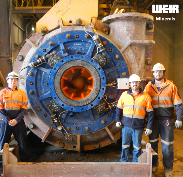Weir Minerals enhances pump maintenance with adjustment technology